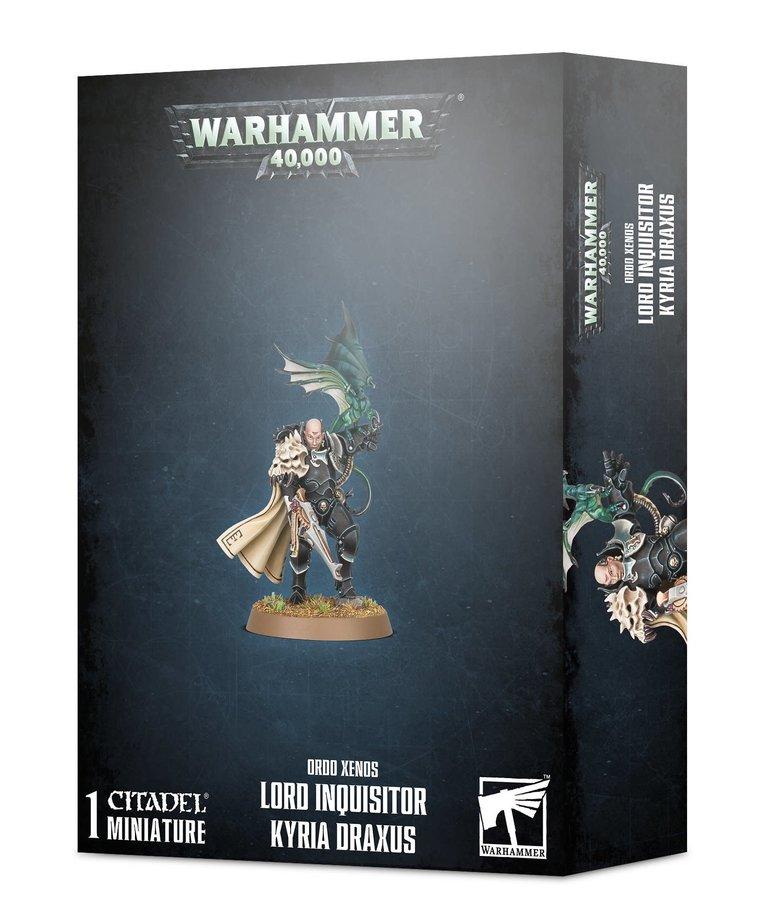 Games Workshop - GAW Warhammer 40K - Ordo Xenos - Lord Inquisitor Kyria Draxus