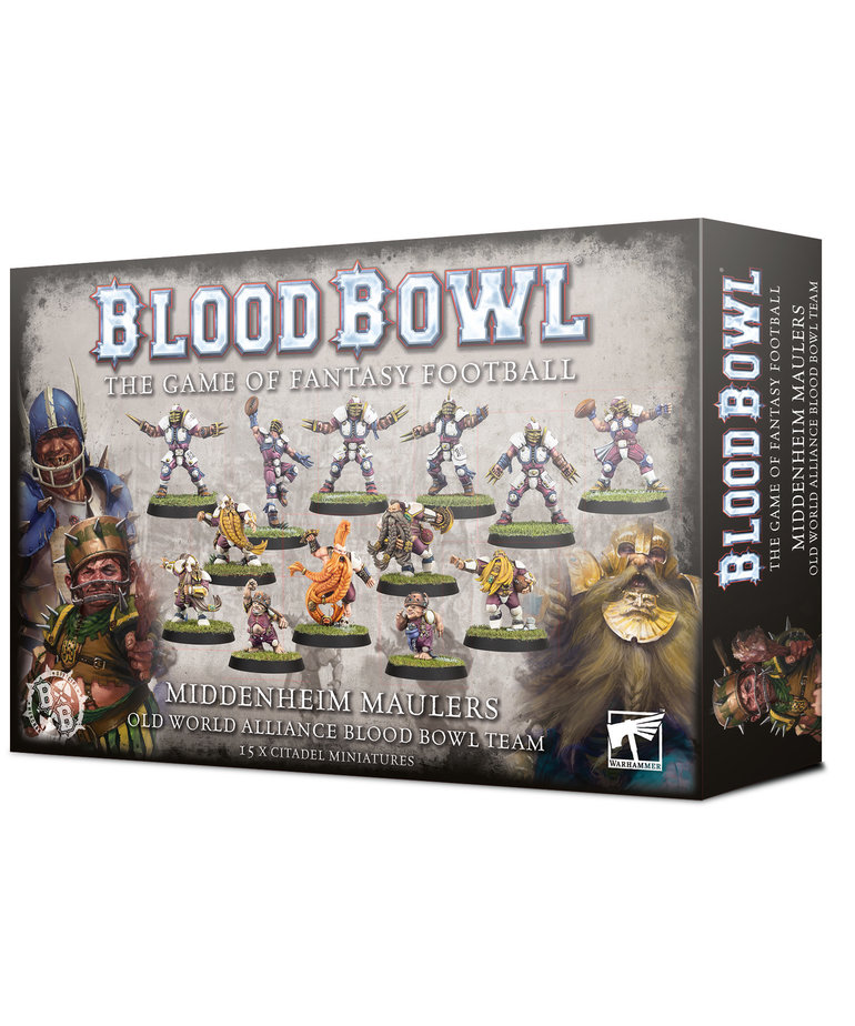 Games Workshop - GAW Blood Bowl - Old World Alliance Team - Middenheim Maulers