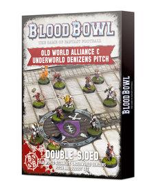 Games Workshop - GAW Blood Bowl - Old World Alliance & Underworld Denizens Pitch