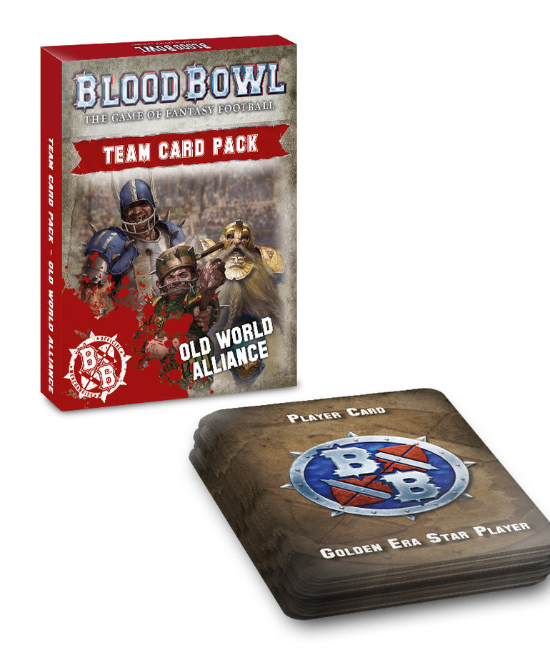Games Workshop - GAW Blood Bowl - Old World Alliance - Team Card Pack