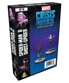 Asmodee - ASM Marvel: Crisis Protocol - Spider-Man & Ghost-Spider - Character Pack