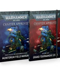 Games Workshop - GAW Warhammer 40K - Chapter Approved: Grand Tournament 2020 - Mission Pack and Munitorum Field Manual