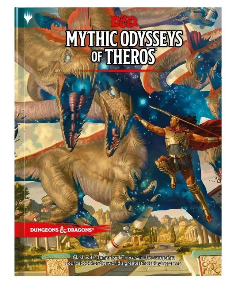 Wizards of the Coast - WOC D&D 5E - Mythic Odysseys of Theros - Sourcebook