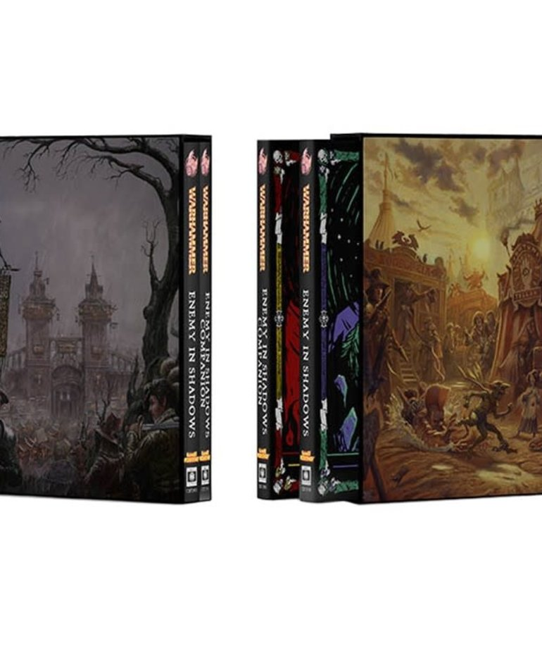 Cubicle 7 - CB7 Warhammer Fantasy Roleplay 4E - Enemy in Shadows Collector's Edition Vol. 1