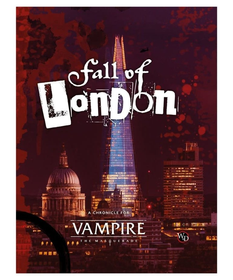 Modiphius Entertainment - MUH Vampire: The Masquerade 5E - The Fall of London