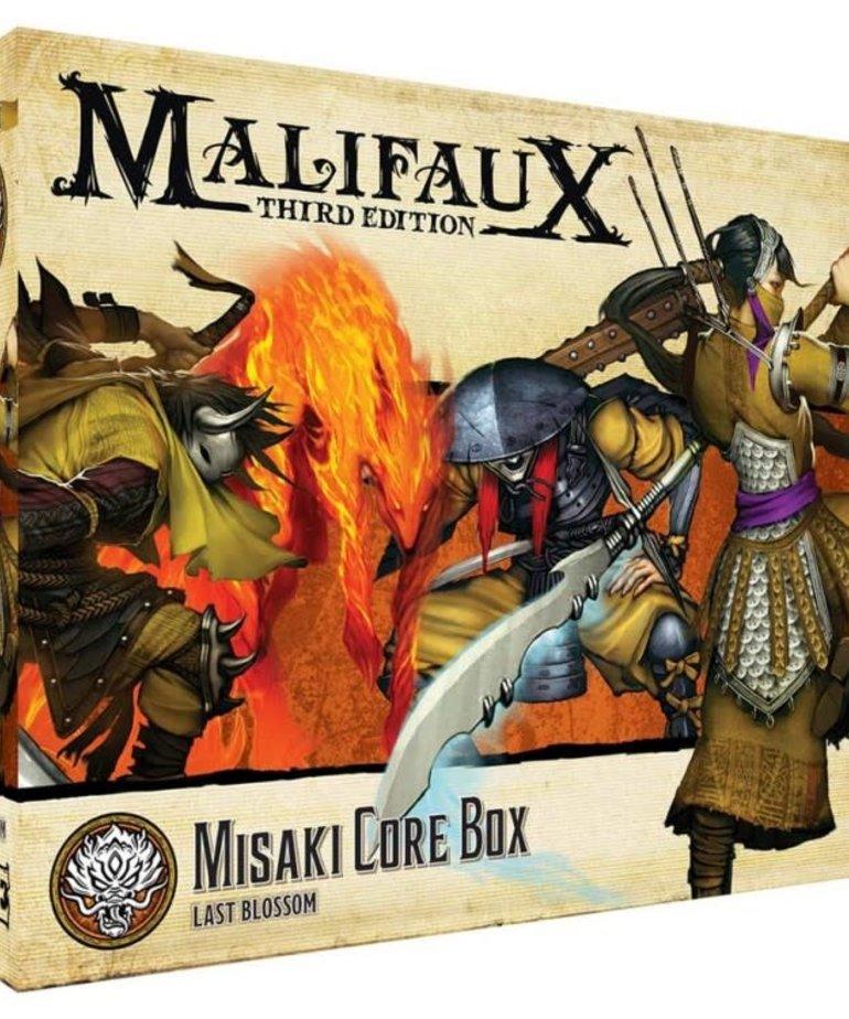 Wyrd Miniatures - WYR Malifaux 3E - Ten Thunders - Misaki Core Box
