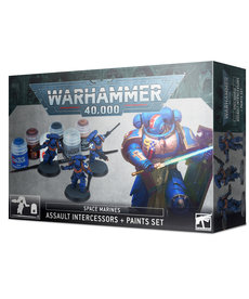 Games Workshop - GAW Assault Intercessors + Paint Set