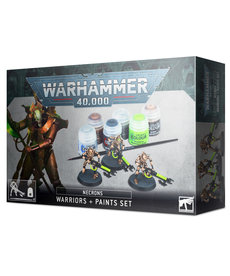 Games Workshop - GAW Necrons - Warriors + Paints Set