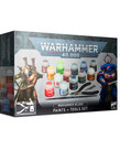 Games Workshop - GAW Warhammer 40K - Paints + Tools Set