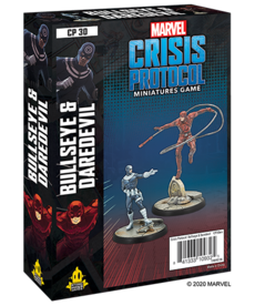 Asmodee - ASM PRESALE - Marvel: Crisis Protocol - Bullseye & Daredevil - Character Pack - 10/01/2020