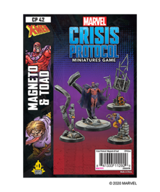 Asmodee - ASM PRESALE - Marvel: Crisis Protocol - Magneto & Toad - Character Pack - 11/01/2020