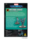 Asmodee - ASM PRESALE - Marvel: Crisis Protocol - Mystique & Beast - Character Pack - 11/01/2020