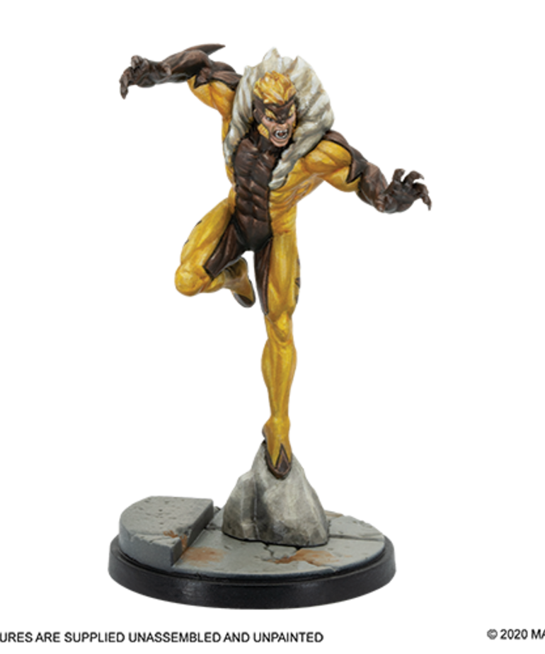 Atomic Mass Games - AMG Marvel: Crisis Protocol - Wolverine & Sabretooth - Character Pack