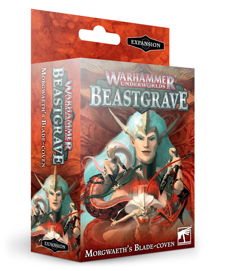 Games Workshop - GAW Warhammer Underworlds: Beastgrave - Morgwaeth's Blade-Coven - Expansion