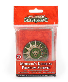 Games Workshop - GAW Morgok's Krushas - Premium Sleeves