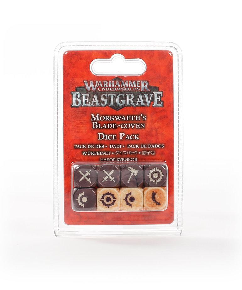 Games Workshop - GAW Warhammer Underworlds: Beastgrave - Morgwaeth's Blade-Coven - Dice Pack