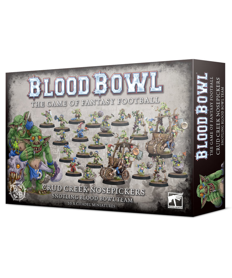 Games Workshop - GAW Blood Bowl - Snotling Team - Crud Creek Nosepickers