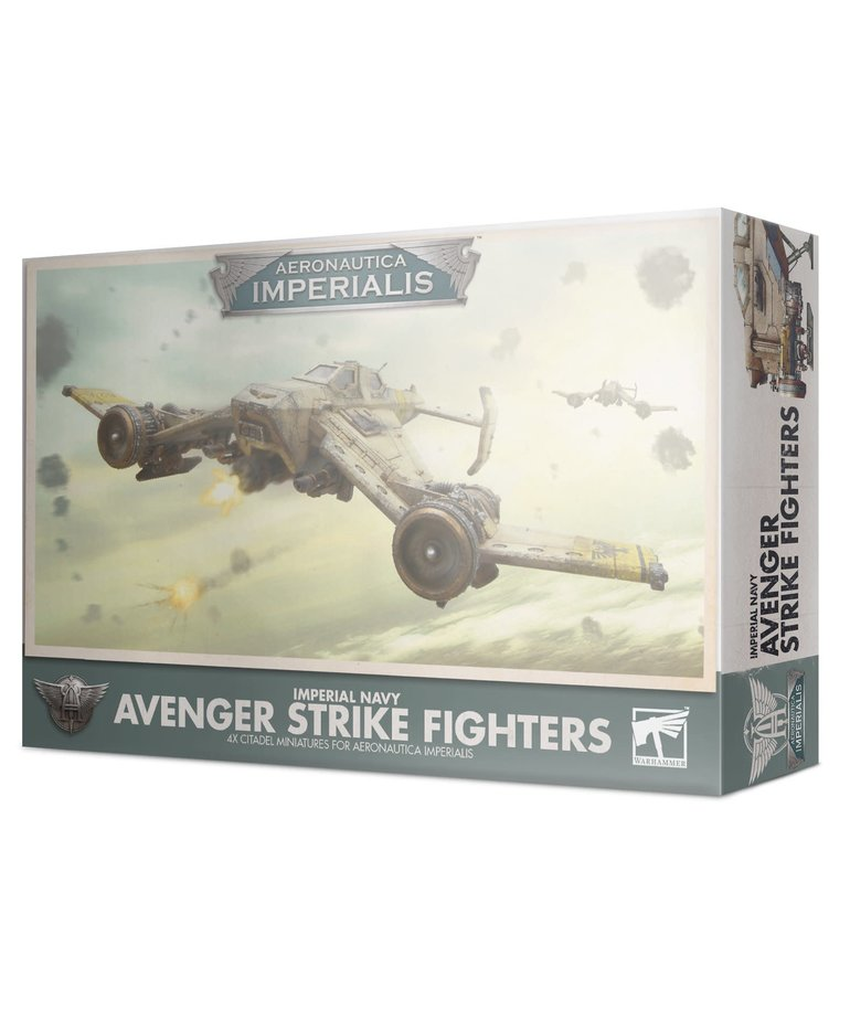 Games Workshop - GAW Aeronautica Imperialis - Imperial Navy - Avenger Strike Fighters