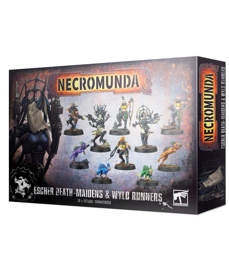 Games Workshop - GAW Necromunda - Escher Death-Maidens & Wyld Runners