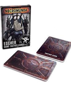 Games Workshop - GAW Escher Gang  - Gang Tactics Cards