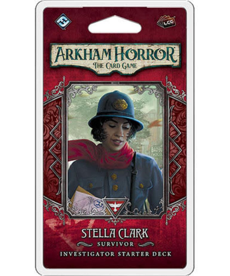Fantasy Flight Games - FFG Arkham Horror LCG: Stella Clark Investigator Starter Deck