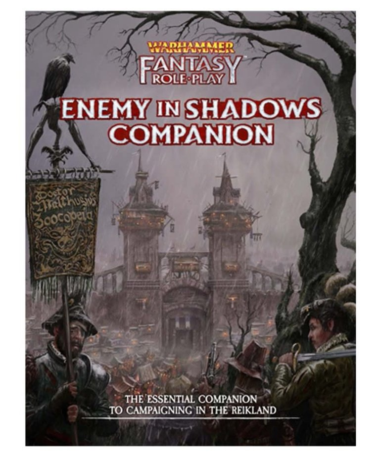 Cubicle 7 - CB7 Warhammer Fantasy Roleplay 4E - Enemy in the Shadows Companion