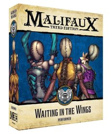 Wyrd Miniatures - WYR Malifaux 3E: Arcanist - Waiting in the Wings: Performer