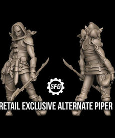 Steamforged Games LTD - STE Guild Ball : Ratcatcher's Guild - Piper (Alternate Sculpted Version)