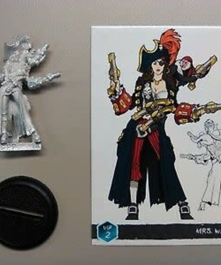 Privateer Press - PIP Minicrate: Mrs. Walls