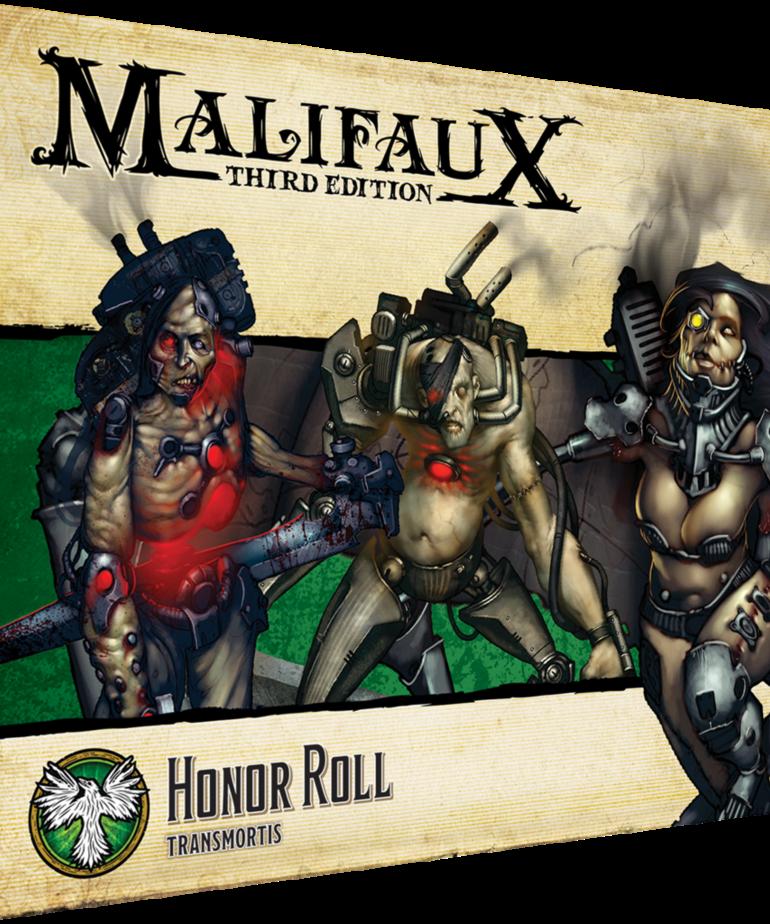 Wyrd Miniatures - WYR Malifaux 3E: Arcanists - Honor Guard