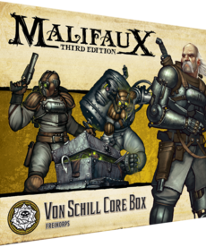 Wyrd Miniatures - WYR Malifaux 3E: Outcasts - Von Schill Core Box