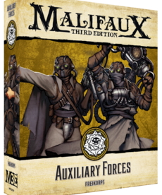 Wyrd Miniatures - WYR Malifaux 3E: Outcasts - Auxillary Forces