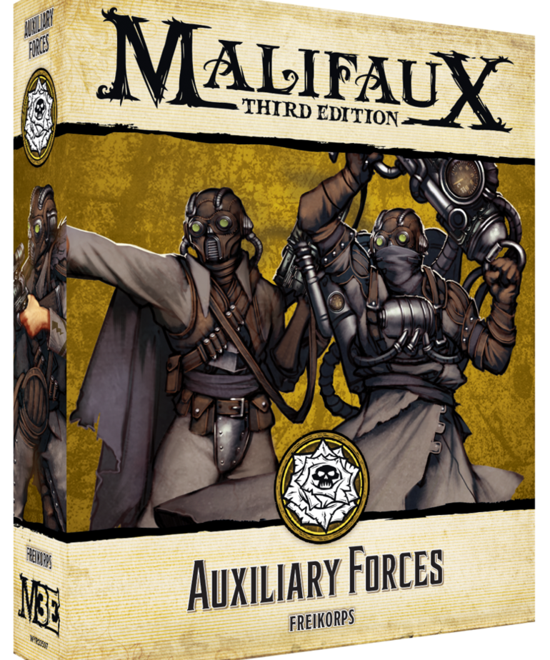 Wyrd Miniatures - WYR Malifaux 3E: Outcasts - Auxillary Forces