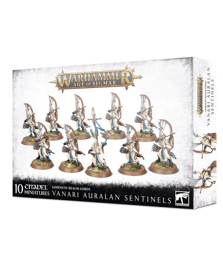 Games Workshop - GAW Warhammer Age of Sigmar - Lumineth Realm-Lords - Vanari Auralan Sentinels