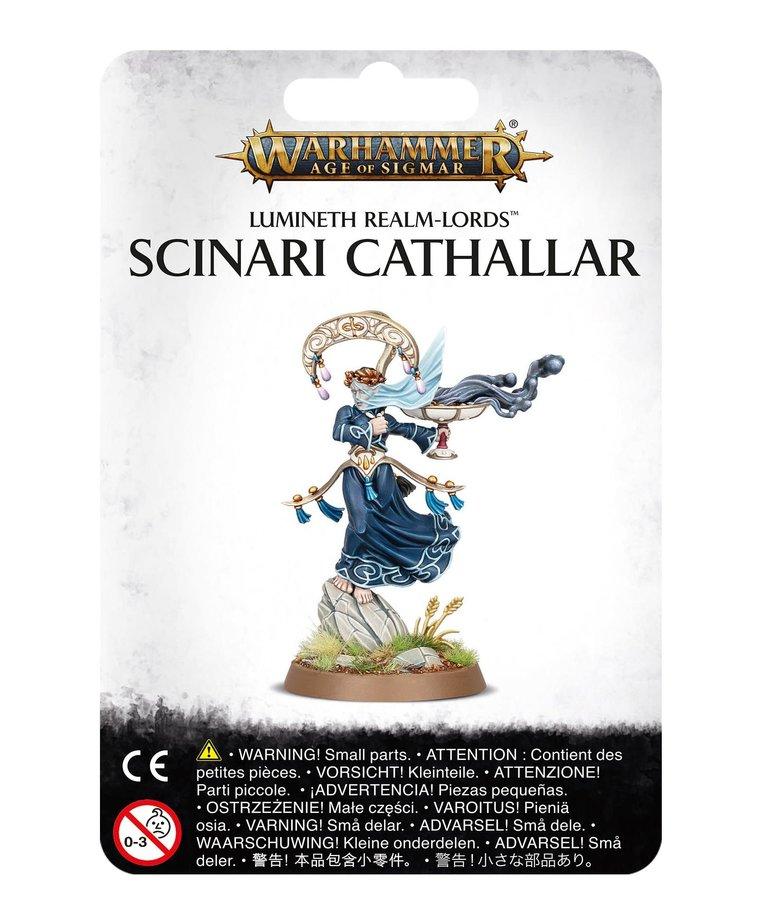 Games Workshop - GAW Warhammer Age of Sigmar - Lumineth Realm-Lords - Scinari Cathallar