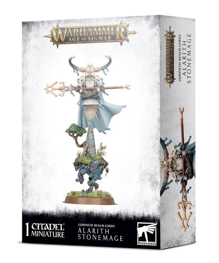 Games Workshop - GAW Warhammer Age of Sigmar - Lumineth Realm-Lords - Alarith Stonemage