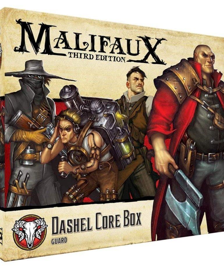 Wyrd Miniatures - WYR Malifaux 3E - Guild - Dashel Core Box