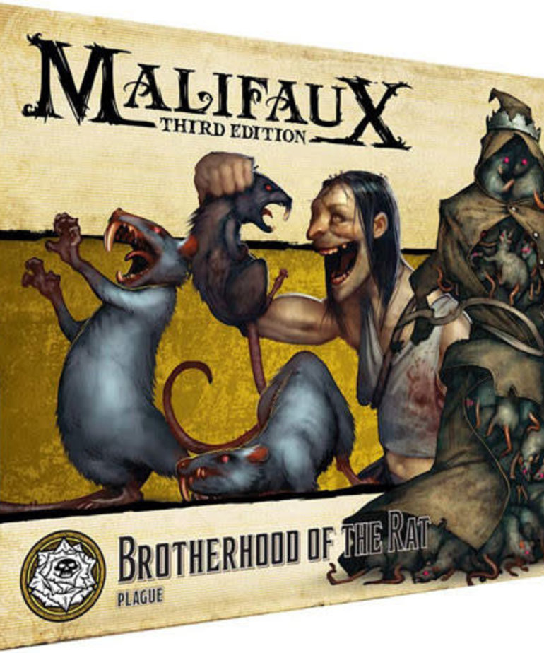 Wyrd Miniatures - WYR Malifaux 3E - Outcasts - Brotherhood of the Rat