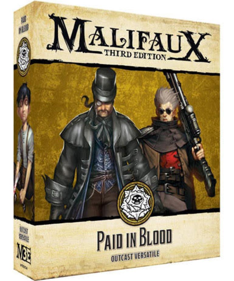 Wyrd Miniatures - WYR Malifaux 3E - Outcasts - Paid in Blood