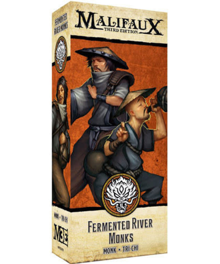 Malifaux 3E - Ten Thunders - Fermented River Monk