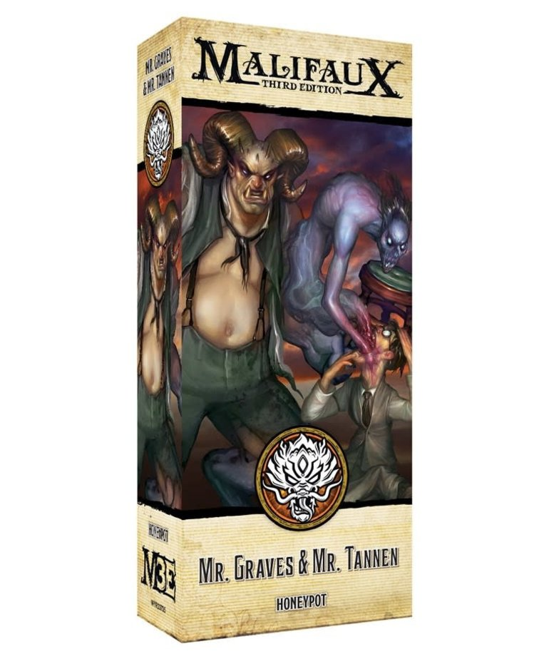 Wyrd Miniatures - WYR Malifaux 3E - Ten Thunders - Alt Mr. Graves and Mr. Tannen