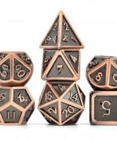 Udixi Dice - UDI Ancient Metal - Copper Dice