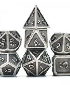 Udixi Dice - UDI Ancient/Metal - Silver Dice