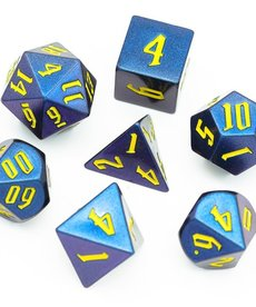 Udixi Dice - UDI Light Changing - Purple-Blue/Yellow Dice