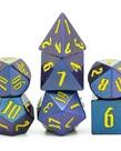 Udixi Dice - UDI Udixi: Dice - Polyhedral 7-Die Set - Light Changing - Purple-Blue/Yellow
