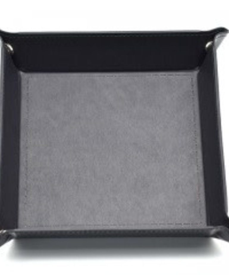 Udixi Dice - UDI Udixi: Dice Tray -  Folding: Square - Black