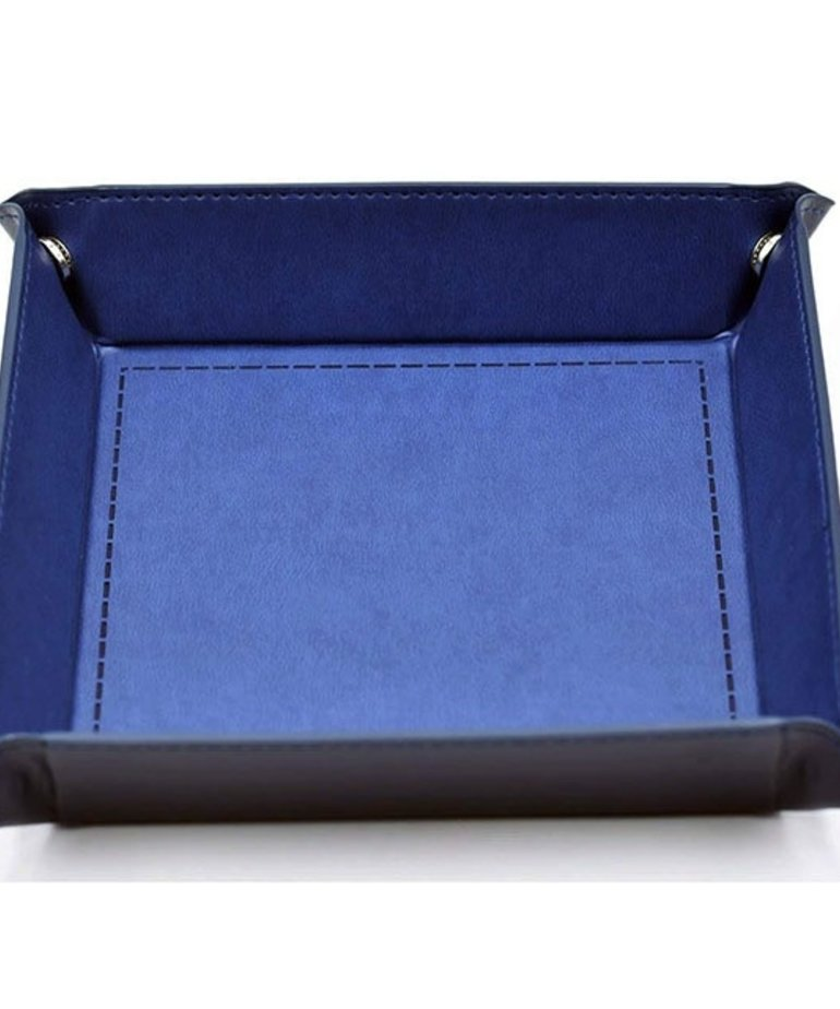 Udixi Dice - UDI Udixi: Dice Tray -  Folding: Square - Blue