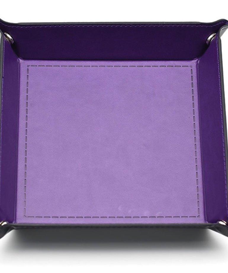 Udixi Dice - UDI Udixi: Dice Tray -  Folding: Square - Purple