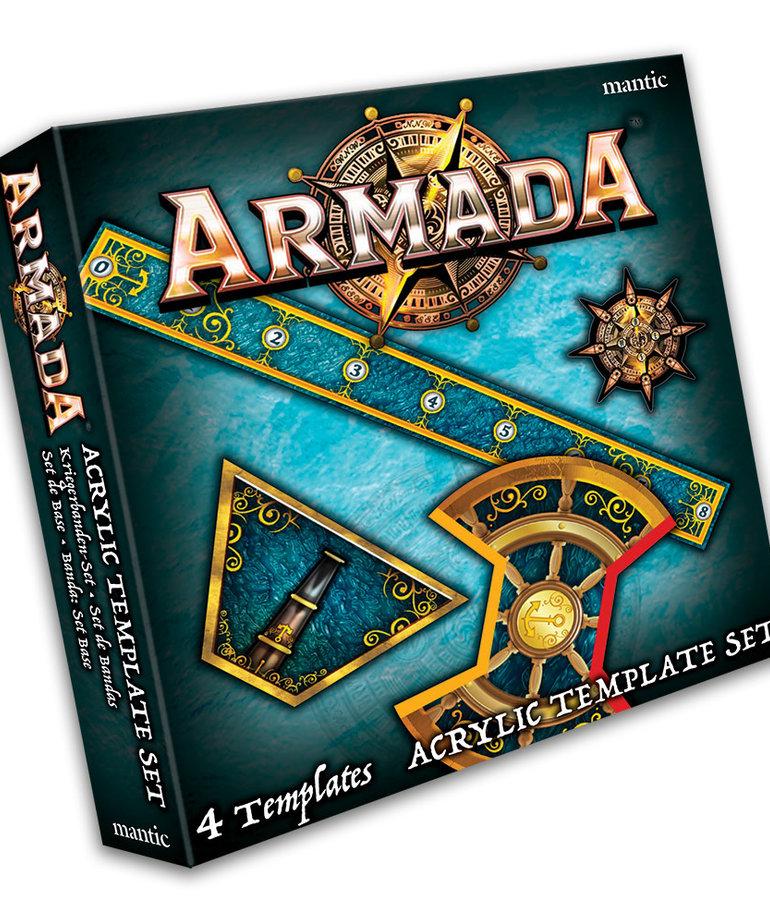 Mantic Games - MG Kings of War: Armada - Acrylic Template