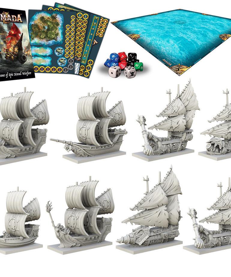 Mantic Games - MG Kings of War: Armada - Two Player Starter Set